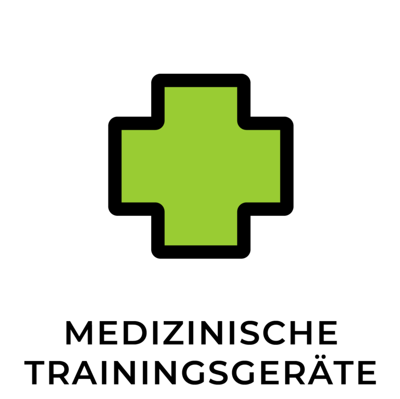 Sie trainieren an medizinischen Trainingsgeräten